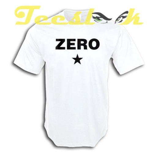 Zero tees shirt