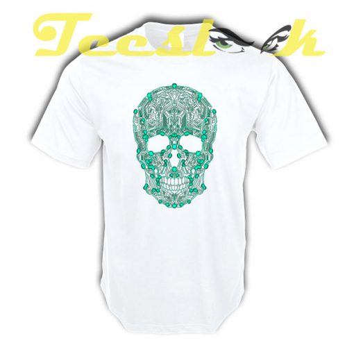 Circuit Skull tees shirt