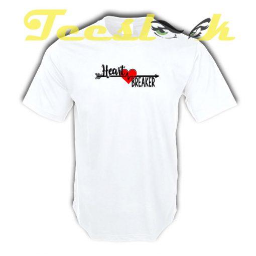 Heart Breaker tees shirt