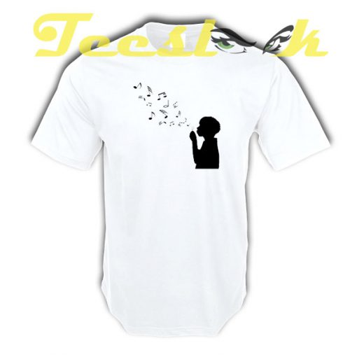 Music Wall tees shirt