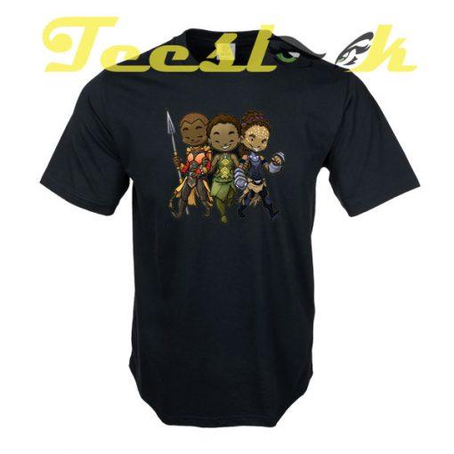 Panther Trio tees shirt
