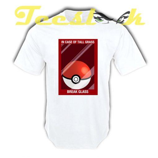 Pokemon Break Glass tees shirt