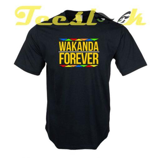 Wakanda Forever C tees shirt
