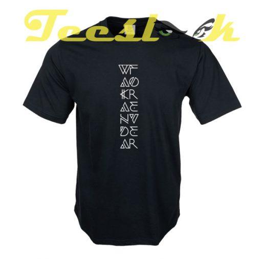 Wakanda Forever D tees shirt