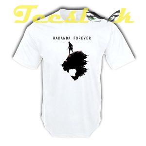 Wakanda Forever G tees shirt