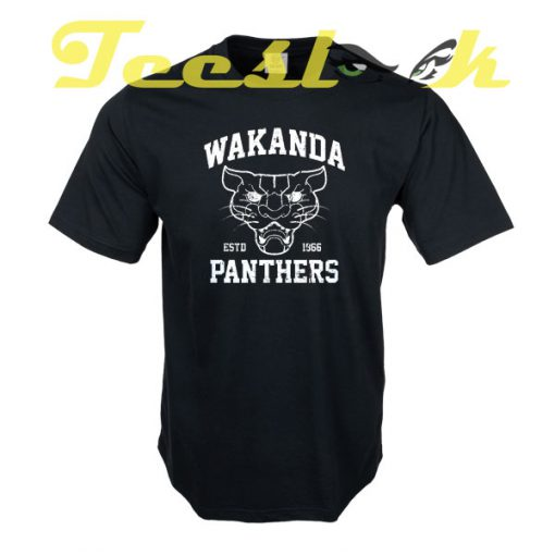 Wakanda Panthers tees shirt