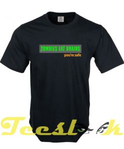 Zombies Eat Brains tees shirt