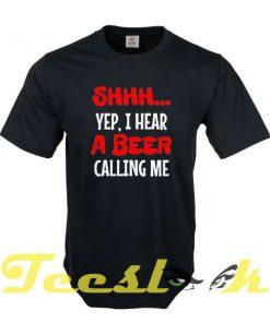 Beer Calling tees shirt