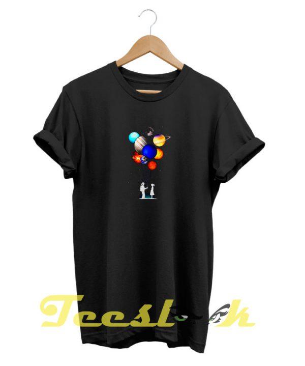 Planet Balloon tees shirt