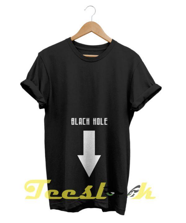Black Hole tees shirt