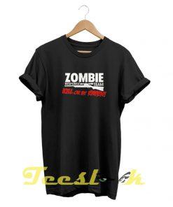 Zombie tees shirt