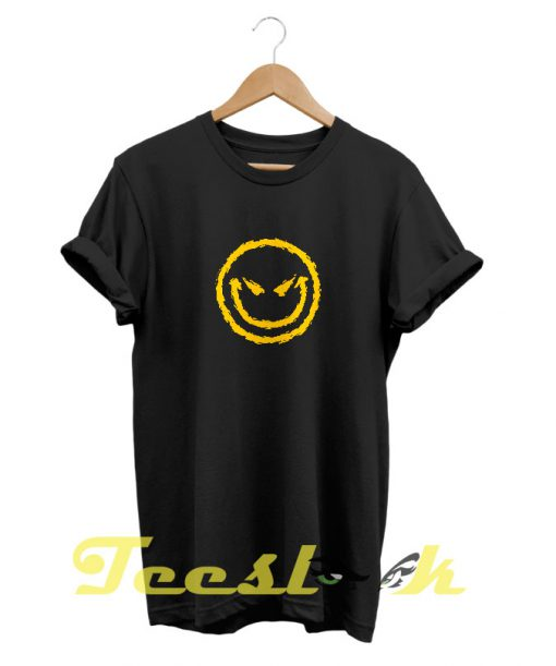 Evil Smiley tees shirt
