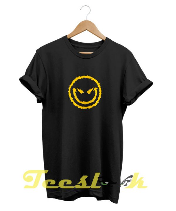 Evil Smiley tees shirt