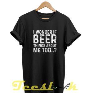 Wonder Beer tees shirt