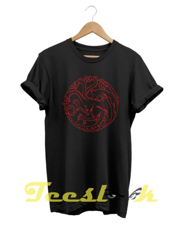 Daenerys Dragons tees shirt