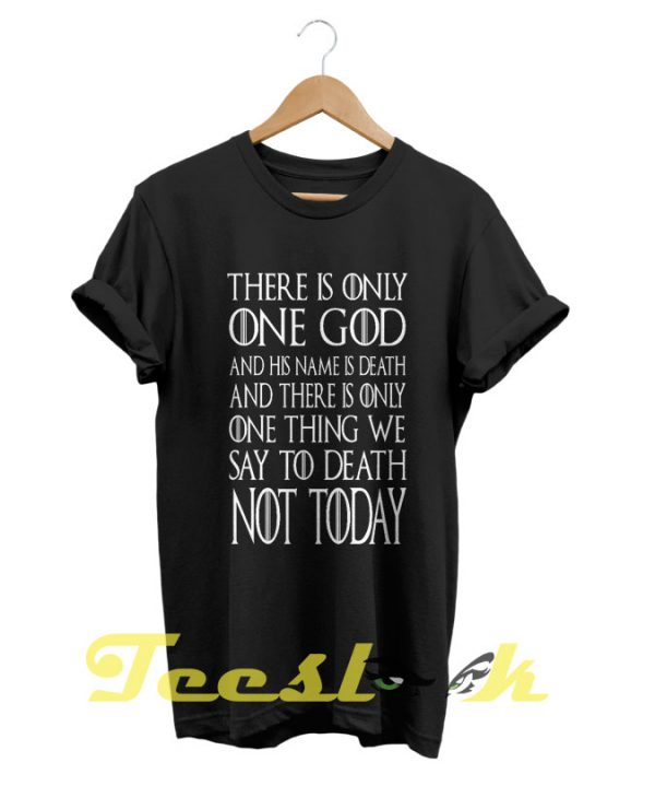 Game of Thrones Quote tees shirt