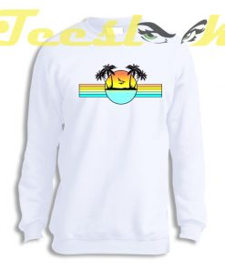 Sweatshirt 80s Sunset