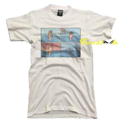 Deep Dark Fears Grunge Aesthetic tees shirt