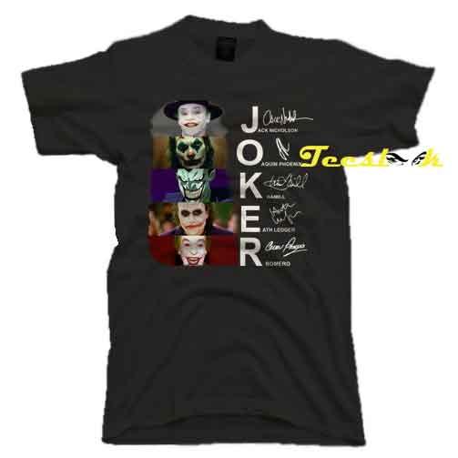 Joker Tee shirt