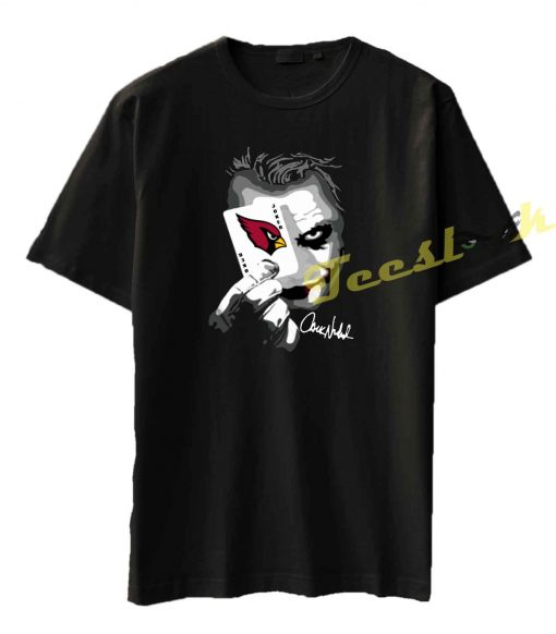 Arizona Cardinals Joker Poker Tee shirt