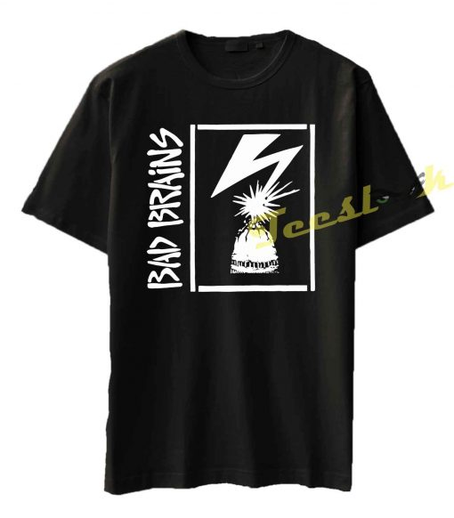 Bad Brains Capitol Stencil Tee shirt