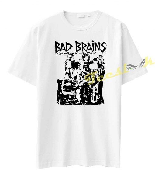 Bad Brains Punk Rock Minor Threat Fugazi Tee shirt