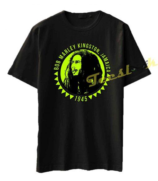 Bob Marley Kingston Jamaica 1945 Tee shirt