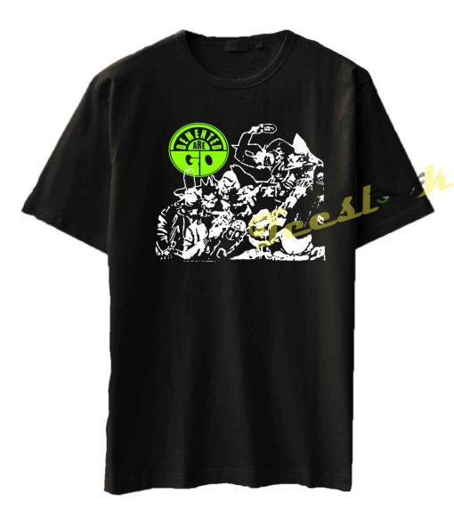 Demented Are Go Punk Rock Tee shirt