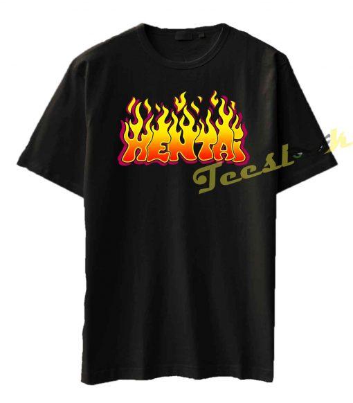 Hentai Flames Tee shirt