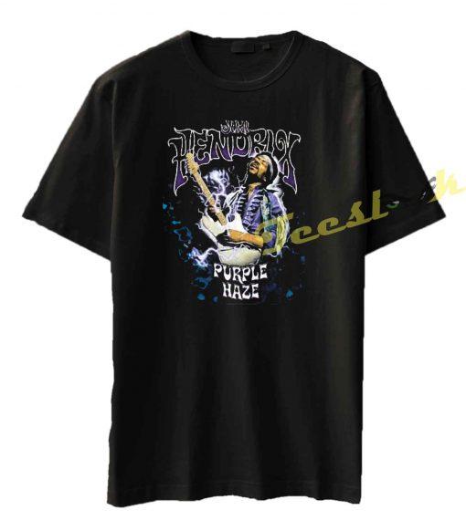 Jimi Hendrix Purple Haze Lightning Tie Dye Tee shirt