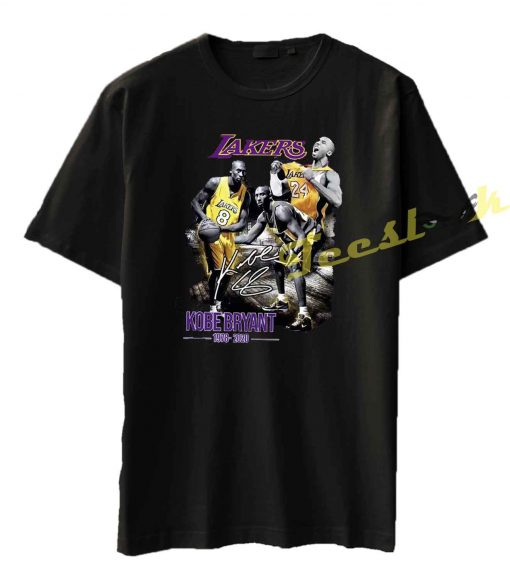 Kobe Bryant Legend Black Mamba Los Angeles Tee shirt