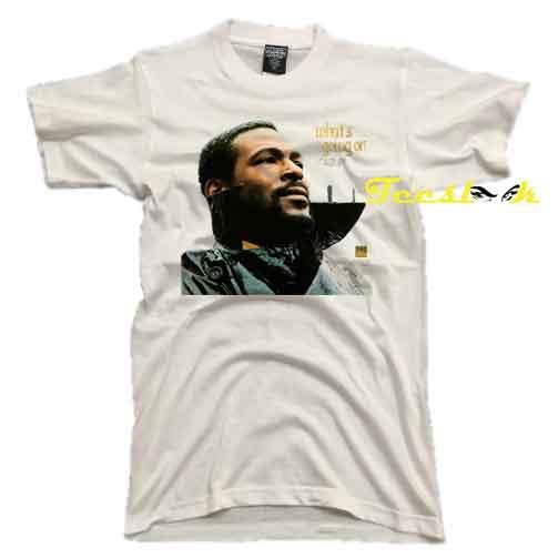 Marvin Gaye Funk Soul Tee shirt