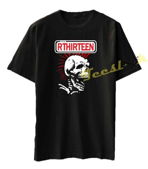 R Thirteen Skull Tee shirt