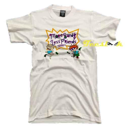 Rugrats More Bands Less Friends Tee shirt