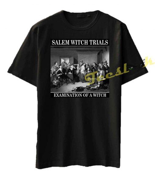 Salem Witch Trials Examination Tee shirt