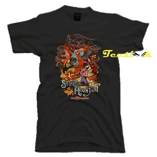 Splash Mountain Characters Tee shirt