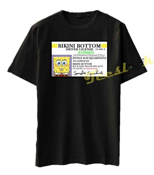 SpongeBob SquarePants ID Tee shirt