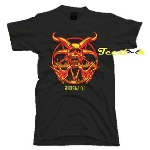 Superrradical Satan Tee shirt