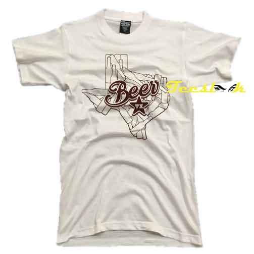 Texas Bottle State tee shirt