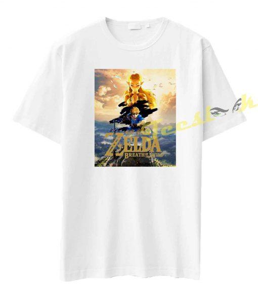 The Legend Of Zelda Breath Of The Wild Tee shirt
