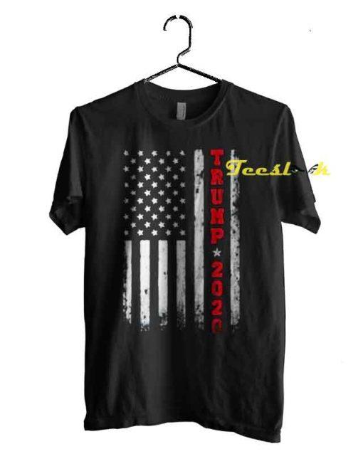 Trump 2020 American Flag Vintage Tee shirt