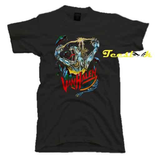 Van Halen Kicks Ass Tee shirt