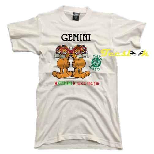 Vintage 1978 Garfield Gemini Tee shirt