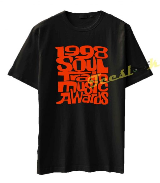 Vintage 1998 Soul Train Awards Rap Tee shirt