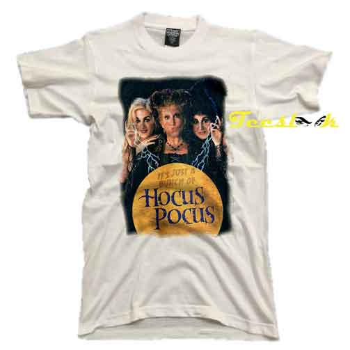 Vintage Just a Bunch of Hocus Pocus Tee shirt